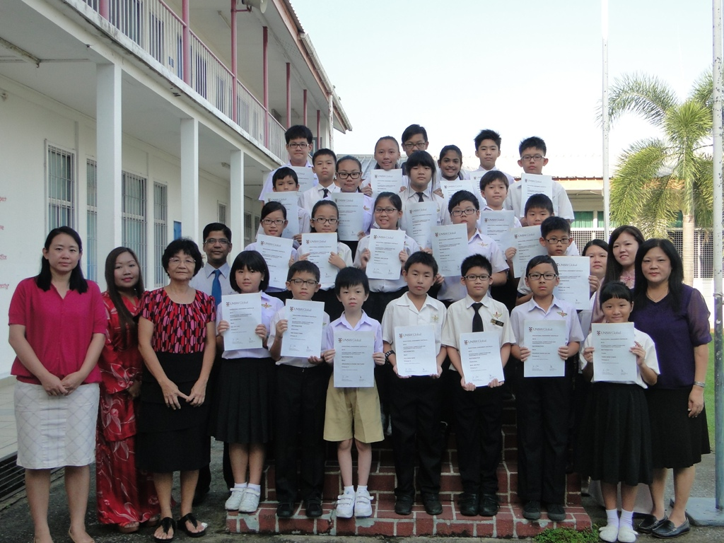 ICAS Maths 2015 – 中正中学 Chung Ching Middle School