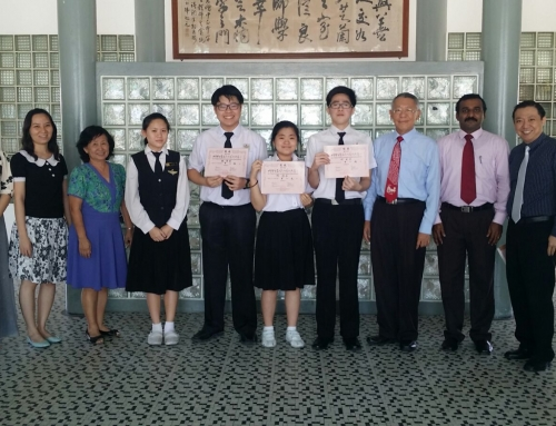 World students' chinese calligraphy