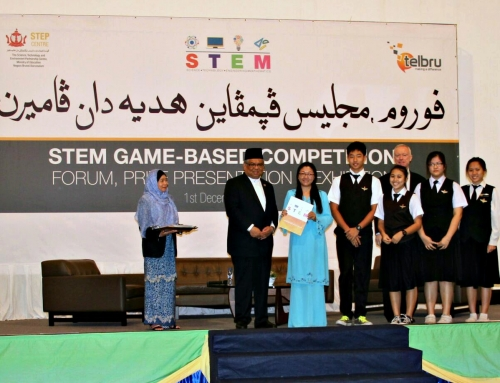 CCMS received cash prize of $100 for STEM Game Based Competition 2015