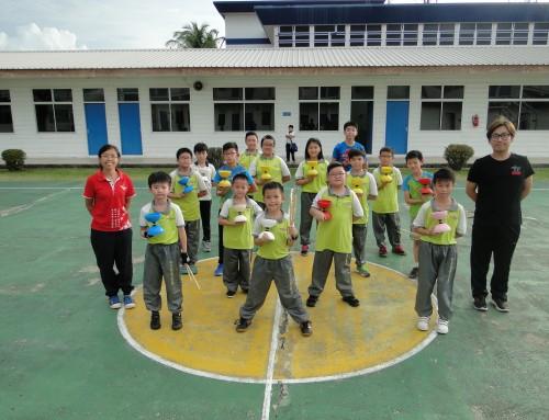 中正中学小学部举办为期两天的扯铃训练营