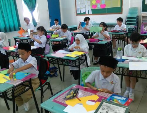 中正中学小学部数学月模型制作比赛成绩报告