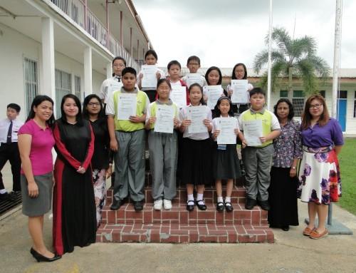 小学部学生在国际英语评估比赛中表现不俗