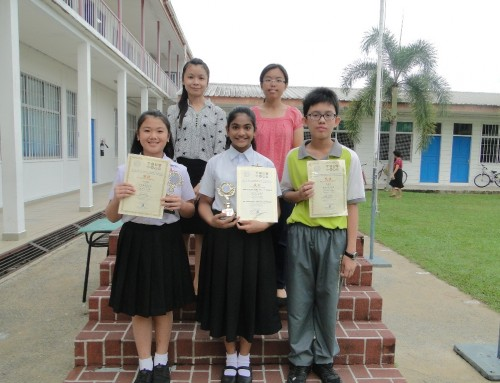 小学部华文组一系列竞赛活动成绩揭晓