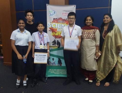 全国科学展比赛 中正中学赢得冠军宝座