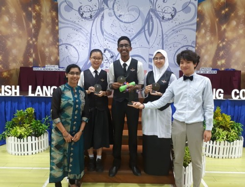 CCMS proud by emerging as the 1st runner up in English Debate